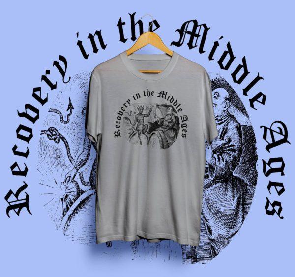 drunken monk t-shirt