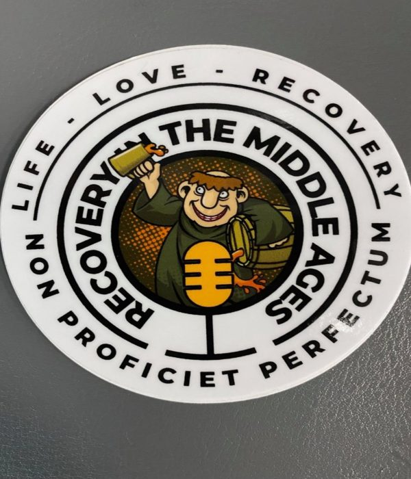 Recovery in the Middle Ages Stickers